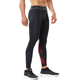 2XU Accelerate Compression Tights Men, black/red